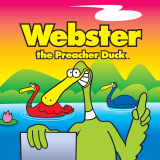 Webster the Preacher Duck